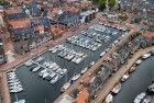 New Bunschoten-Spakenburg marina by drone