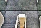 Staircase while looking down