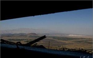 Bunker overlooking Syria