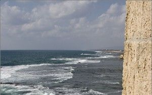 View from the walls of Akko