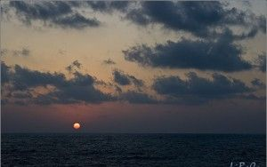 Sunset at Rosh Haniqra