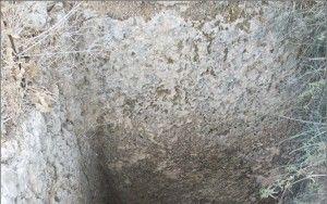 Roman cemetery in Gesher Haziw