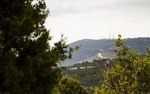 Mountains near Rosh Haniqra