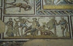Mosaic in Zippori