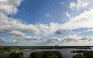 Noorderplassen panorama by Drone
