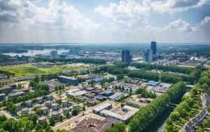 Almere-Stad from the air