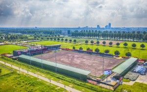 Almere City FC from the air