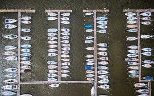 Marina in Oostvaardersdiep