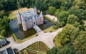 Kasteel Nederhorst from my drone