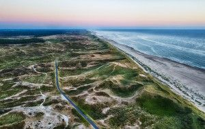 Schoorlse duinen from my drone