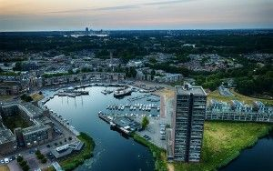 Almere-Haven marina from my drone