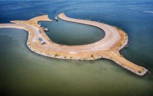 Tulip island near Zeewolde from my drone