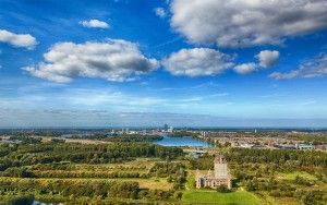 Almere Castle from my drone on a beautiful day