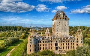 Almere Castle ruin from my drone