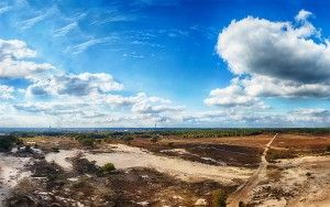 Bussumerheide panorama from my drone
