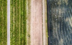 Abstract Noorderplassen picture from my drone