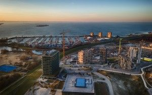 Drone picture from Almere Duin