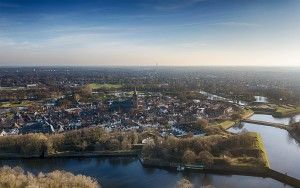 Naarden-Vesting from above