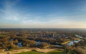 Drone picture of Naarden-Vesting