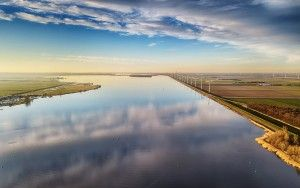 Lake Eemmeer from my drone