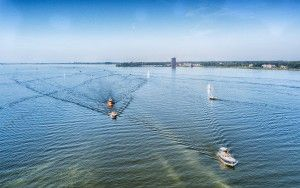 Lake Gooimeer by drone