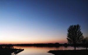 Sunset at Noorderplassen
