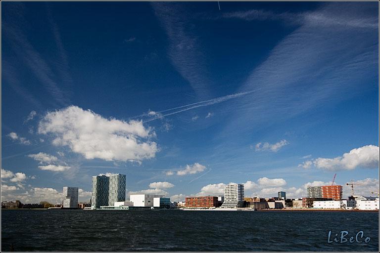 Skyline of Almere-Stad