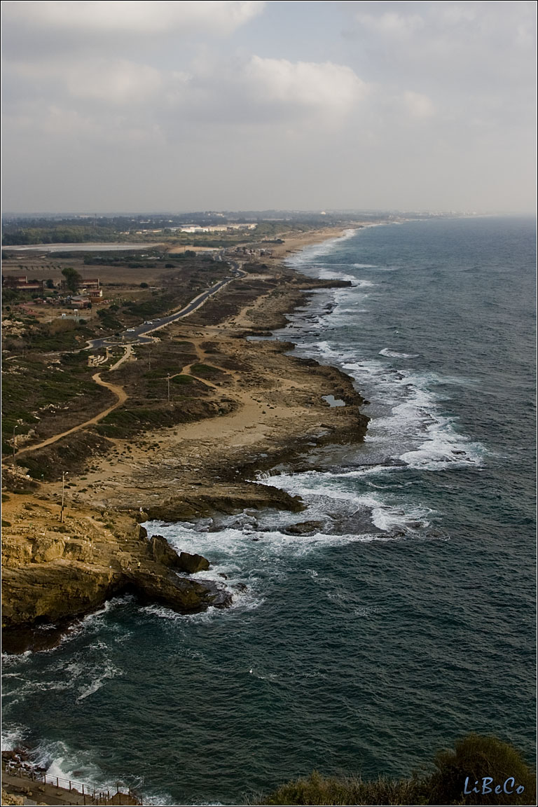 Coastline of North-Israel