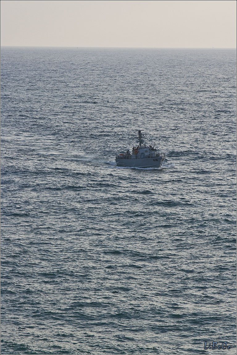 Navy patrols around Rosh Haniqra