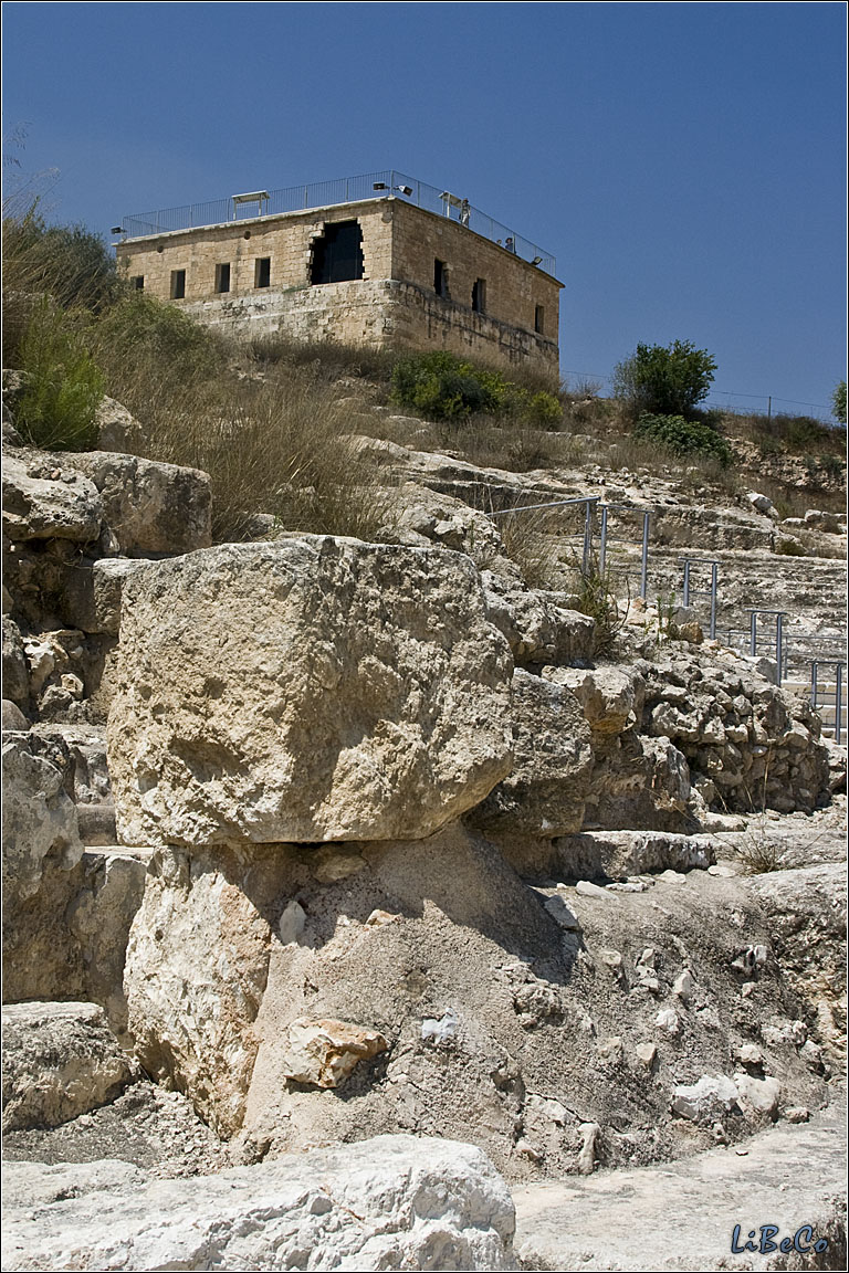 Ancient fortress of Zippori