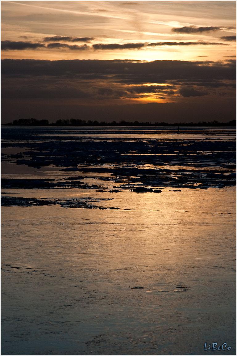 Sunset at Enkhuizen
