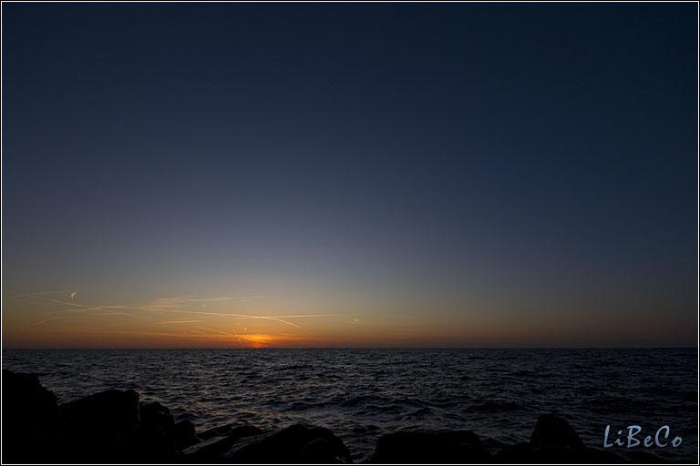 Sunset at Oostvaardersdijk