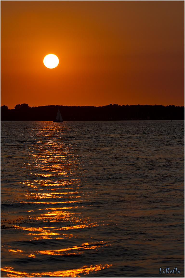 Sunset at Gooimeer