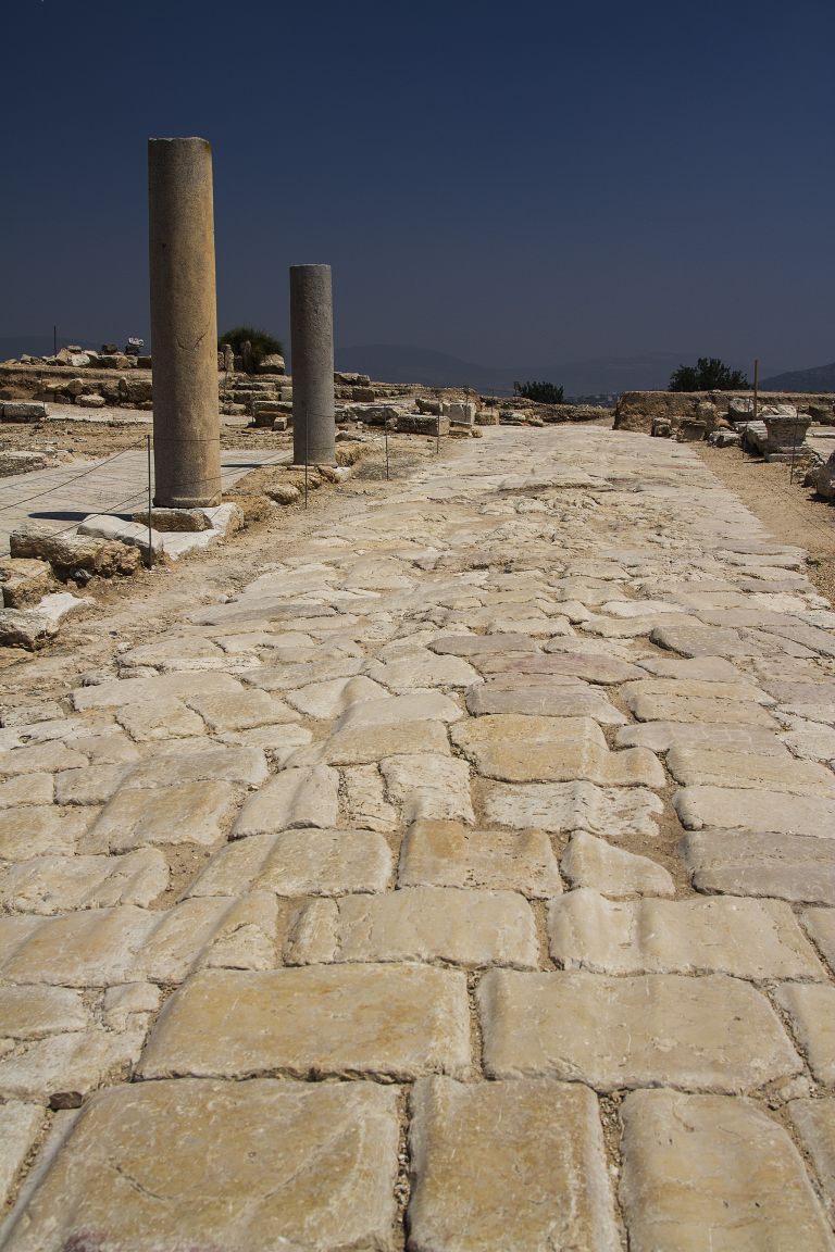 Ancient road in Zippori