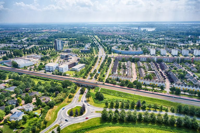 Almere from the air