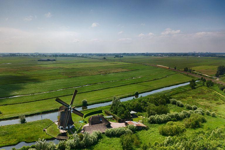 Windmill near Weesp