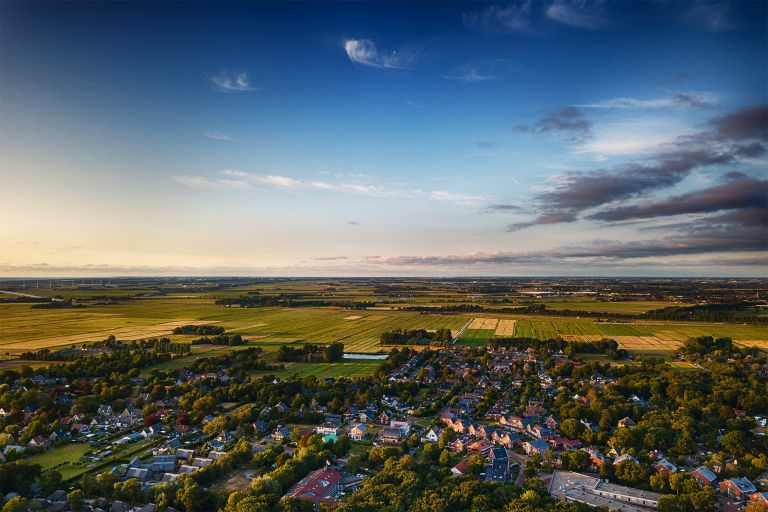 Overlooking Schoorl with my drone