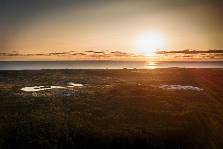 Schoorlse duinen from my drone