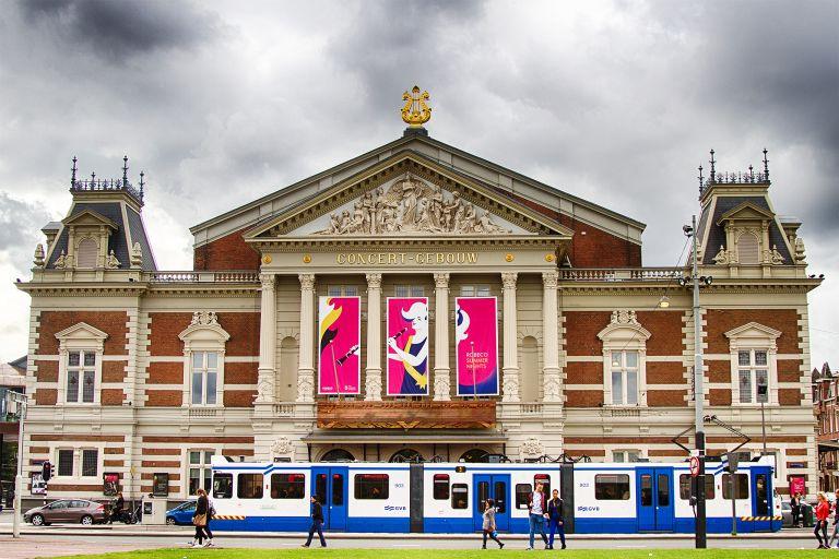 Concertgebouw in Amsterdam