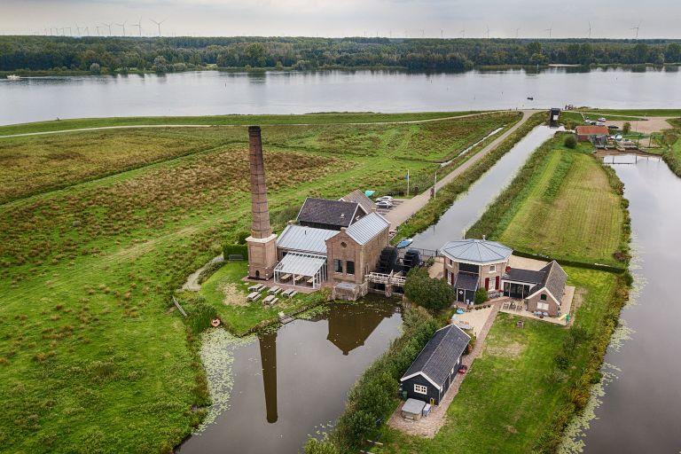 Drone picture of Stoomgemaal Arkemheen