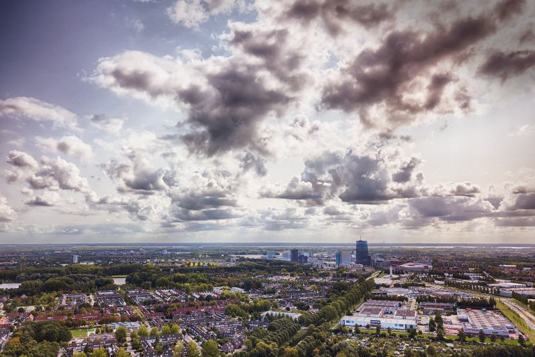 Waterwijk in Almere from my drone