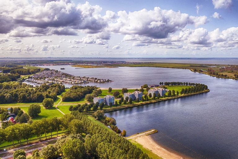 Noorderplassen in Almere from my drone