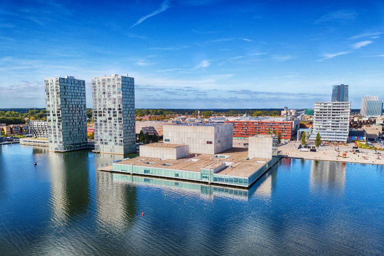 Drone picture of KAF in Almere