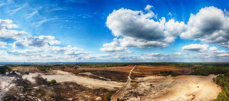 Bussumerheide panorama from my drone