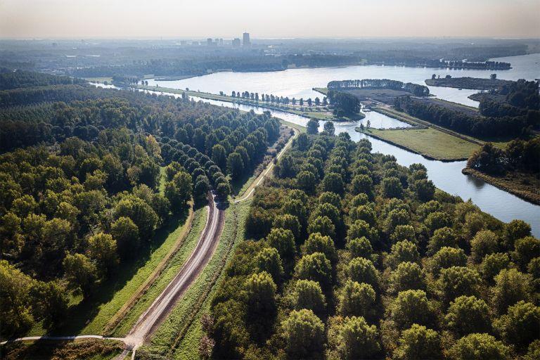 Noorderplassen by drone
