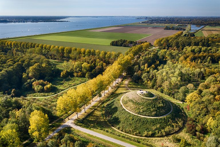 Almere Boven from my drone in autumn