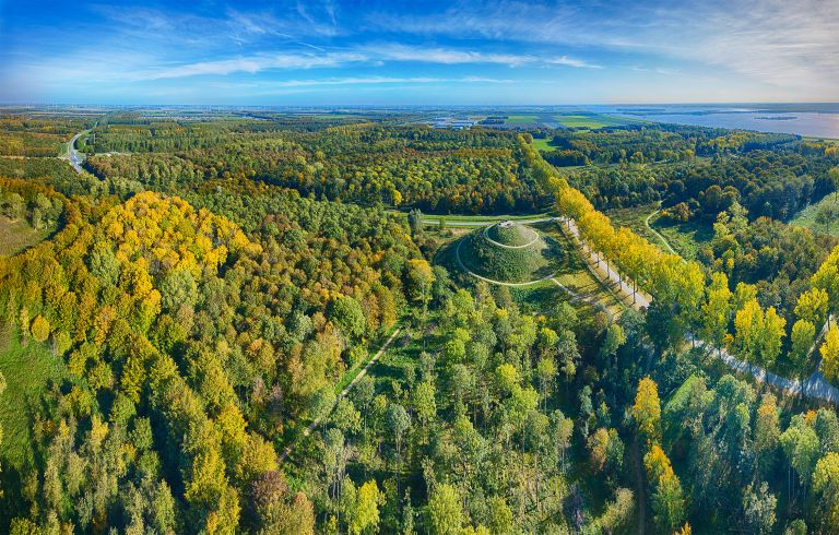 Autumn panorama from my drone