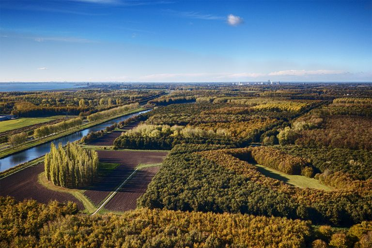 Land art in Almere from my drone