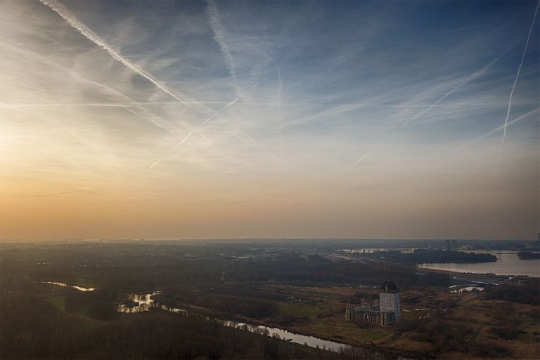 Sunset above Almere from my drone