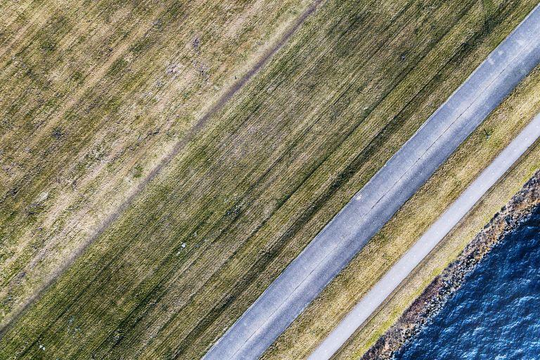 Gooimeerdijk from my drone